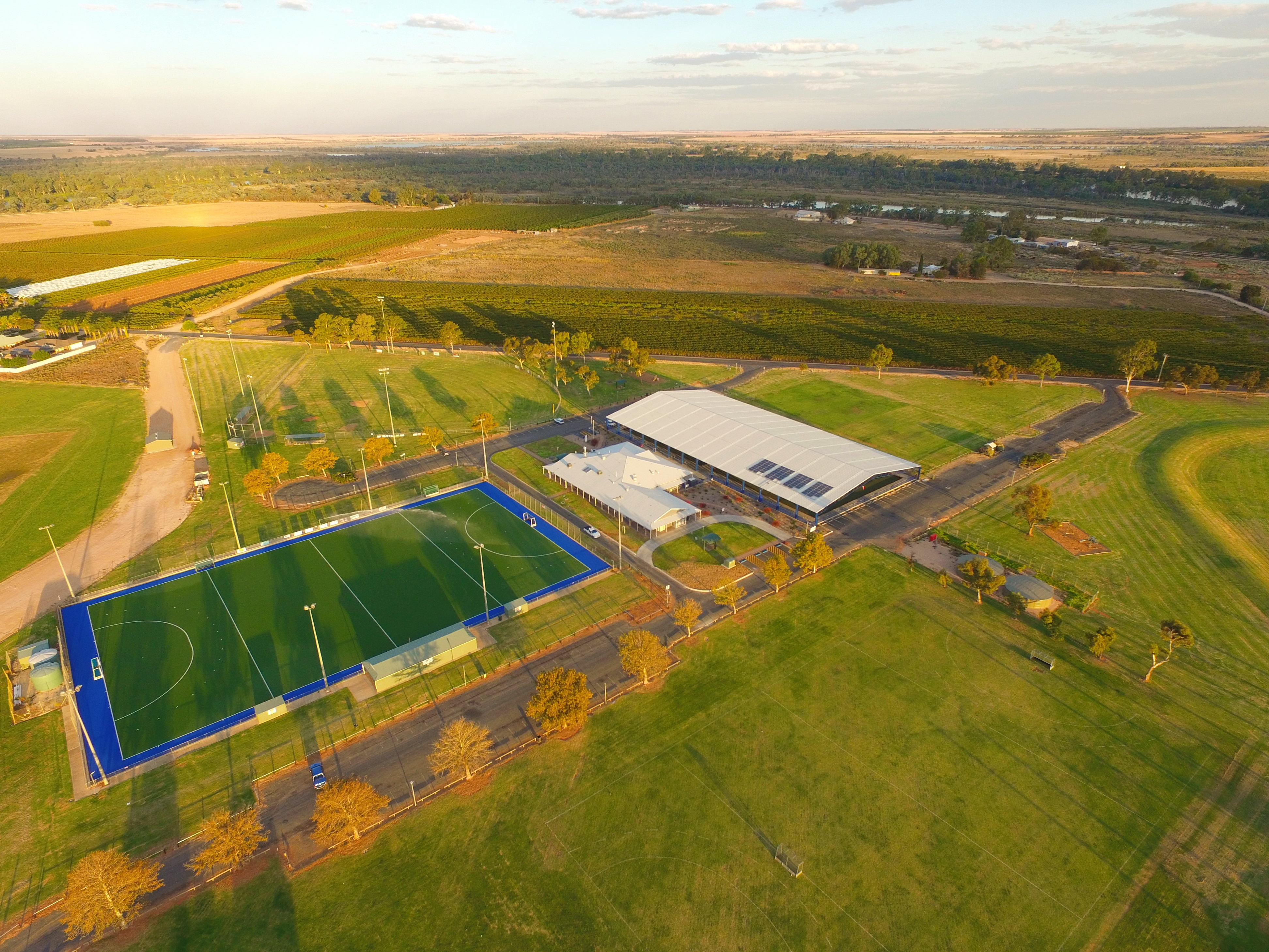 Grant Schwartzcopff - aerial of Glassey Park