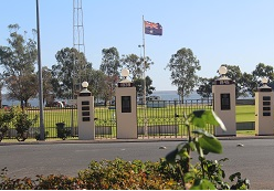 Barmera Oval Gates