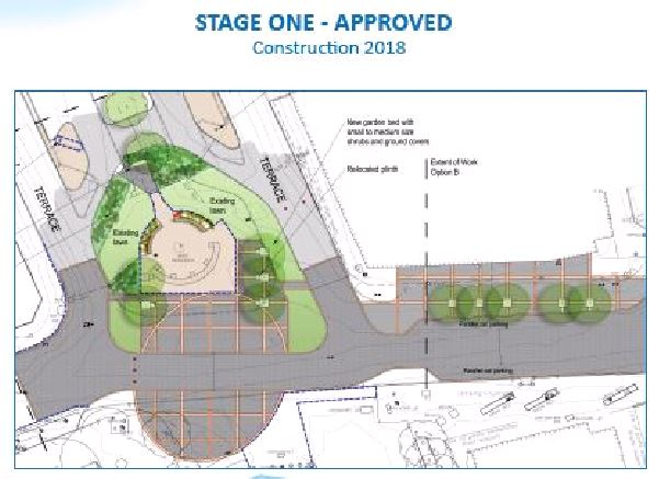 Design Drawing - Stage One Riverfront Project