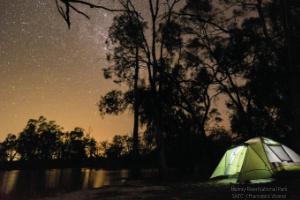 SATC - night camping in national park