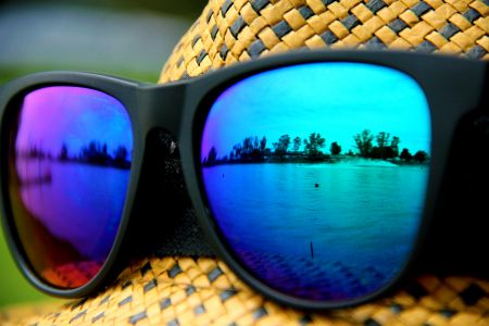 Powerboats through glasses