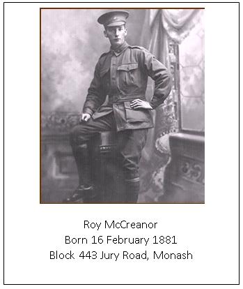 McCreanor - Roy