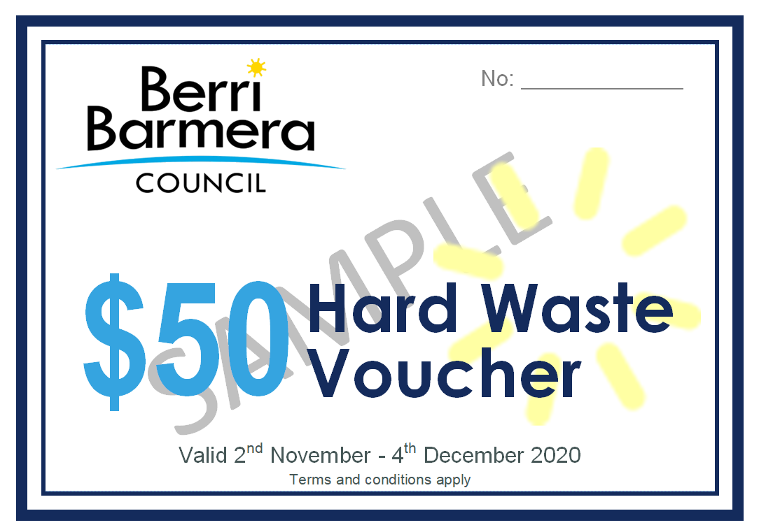 Hardwaste Voucher  Sample